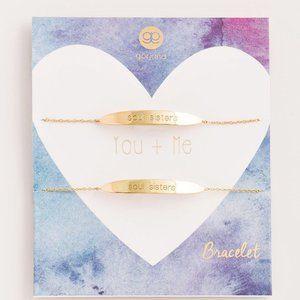 Gorjana Gold You & Me Friendship Sister Bracelets